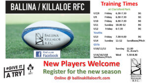 TrainingTimes Flyer 2020-21