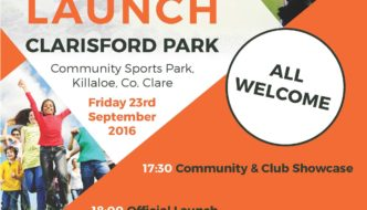 Clarisford Park Launch – Friday 23rd