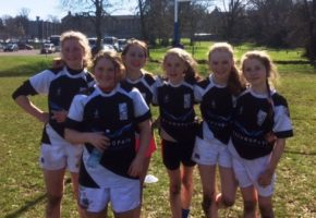 U12 Girls at Rockwell College blitz