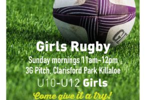 Girls U10 – U11 – U12 Rugby training