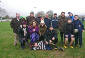 U11 Mini blitz in Scariff RFC