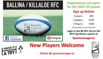2021 –  2022  Season registration & training